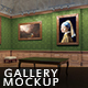 Gallery Mockups Old Paintings HD - GraphicRiver Item for Sale