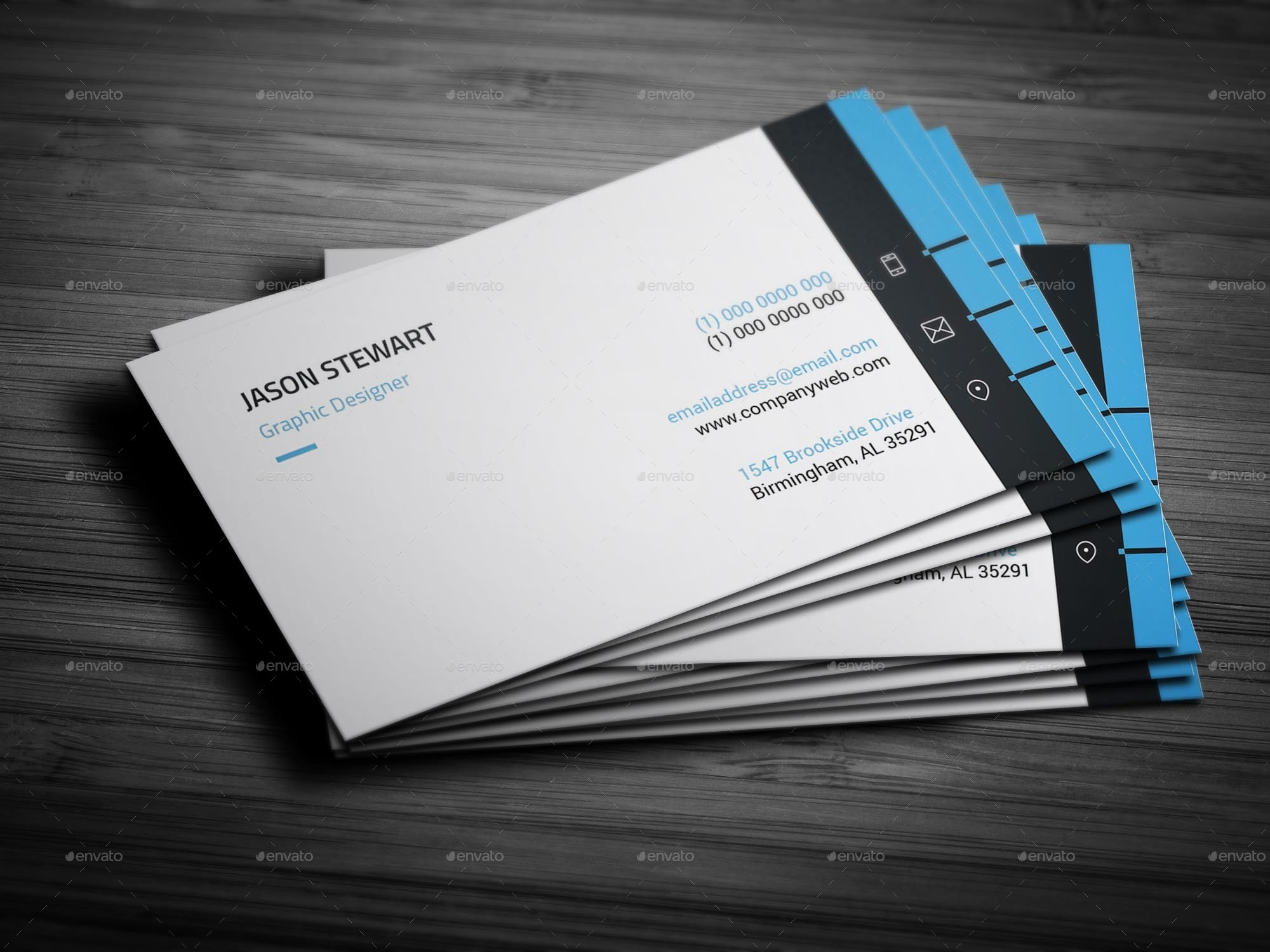 Individual Business Card Template By Arnabkumar GraphicRiver - Single business card template