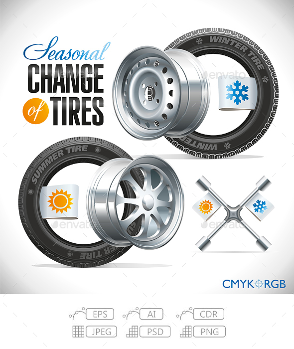 Seasonal Change of Tires - Services Commercial / Shopping