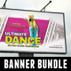 3 Street Dance Competition Banner Bundle