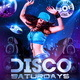 Disco Saturdays Party Flyer - GraphicRiver Item for Sale
