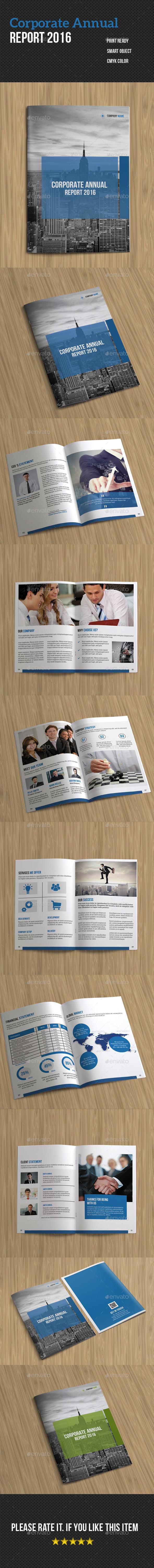 Corporate Annual Report- 2016 - Corporate Brochures
