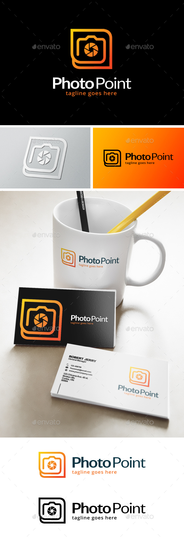 Photo Point Logo - Objects Logo Templates
