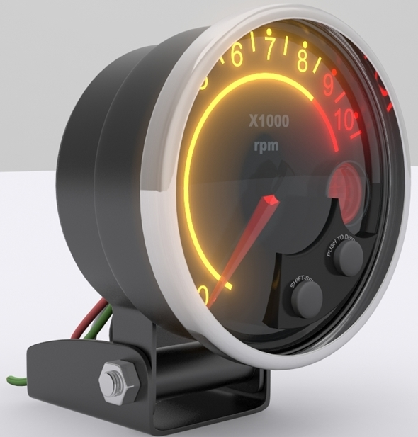 Tachometer  - 3DOcean Item for Sale