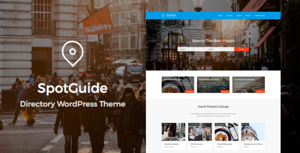 SpotGuide - High Performance Directory WordPress Theme