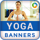 Yoga Banners - GraphicRiver Item for Sale
