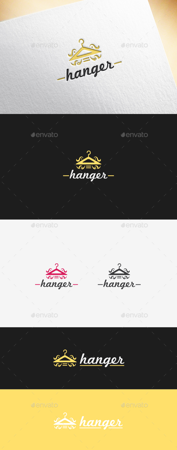 Hanger Logo Template - Objects Logo Templates