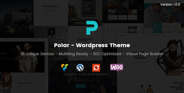Polar – Creative Multi-Purpose WordPress Theme