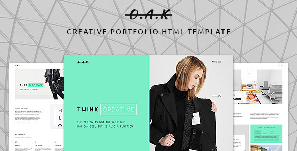 OAK – Creative Multi-Purpose HTML Template