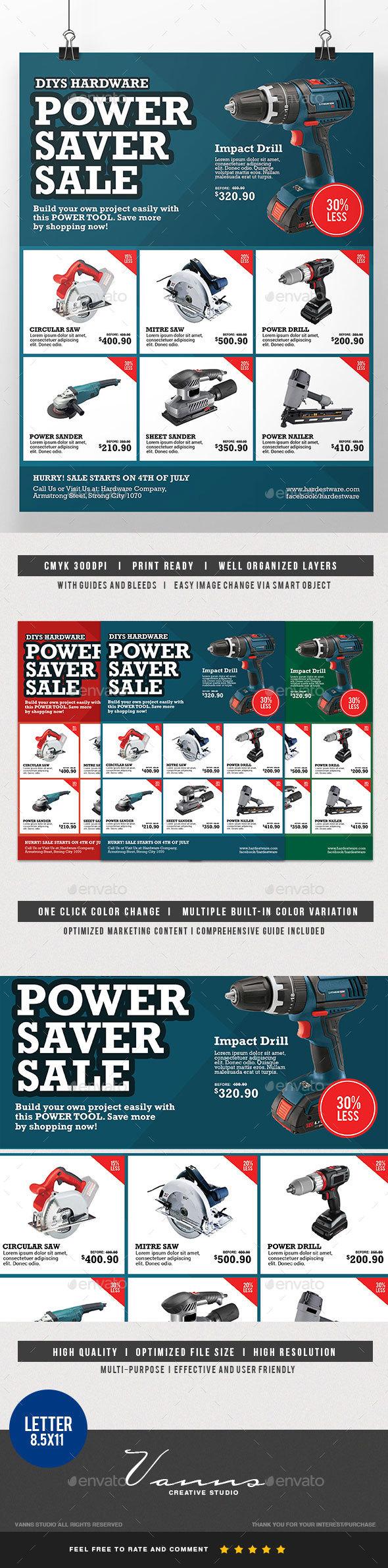 Power Sales Flyer - Corporate Flyers