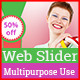 Web Slider Design Multipurpose Use - GraphicRiver Item for Sale