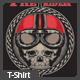 The Rider T-shirt Design - GraphicRiver Item for Sale