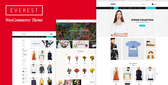 Everest – Multi-Purpose eCommerce Business PSD