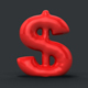 3D Balloon Currency Symbols - GraphicRiver Item for Sale