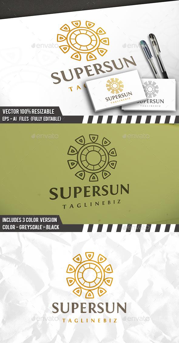 Sun Relic Logo - Vector Abstract