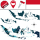 Map of Indonesia - GraphicRiver Item for Sale