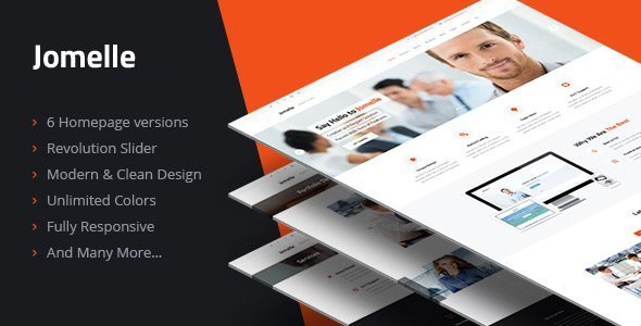 Jomelle - Multipurpose Business HTML Template - Creative Site Templates
