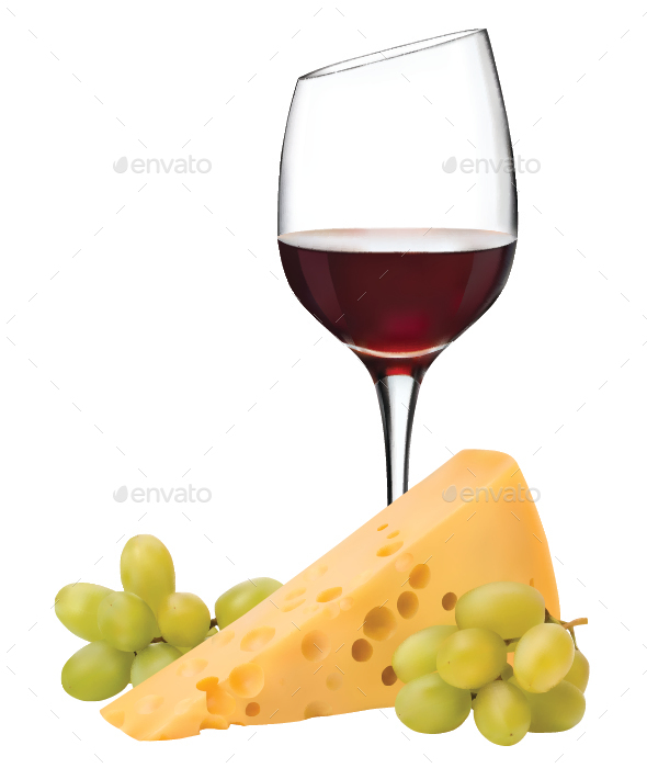 Wine - Food Objects