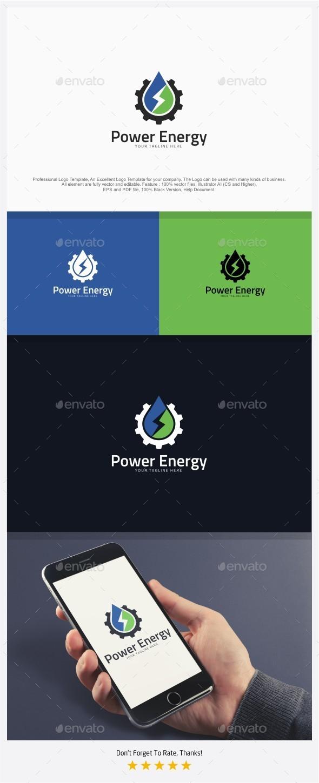 Power Energy Logo - Symbols Logo Templates