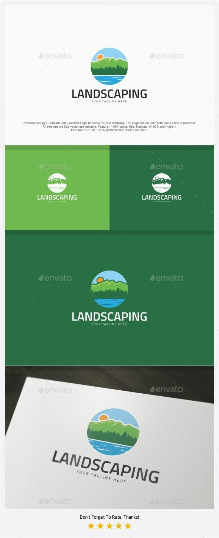 Landscaping Logo - Nature Logo Templates