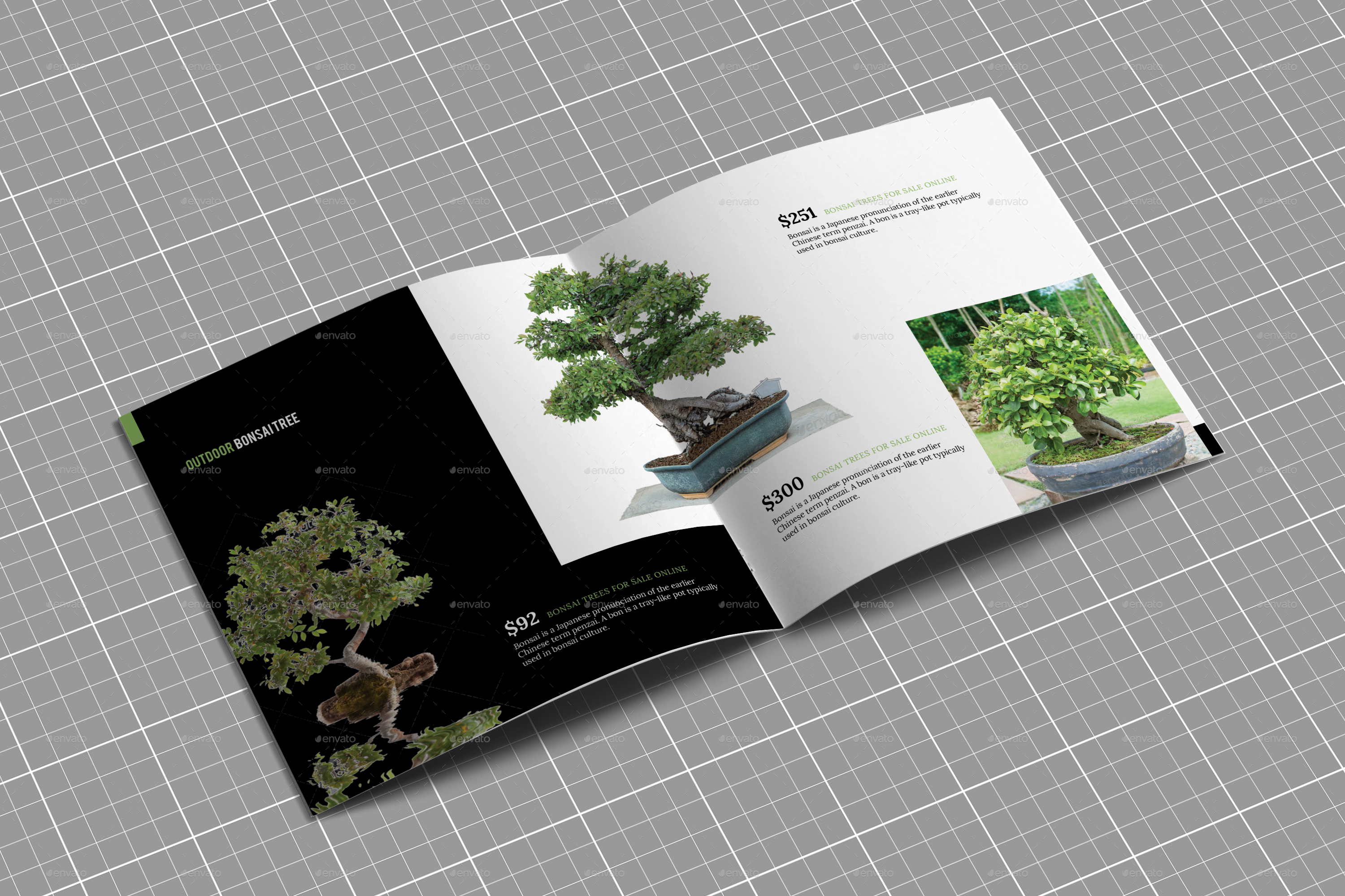 Square Bi-Fold Product Catalog I Indesign Brochure Template by ...