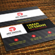 Single Business Card - GraphicRiver Item for Sale