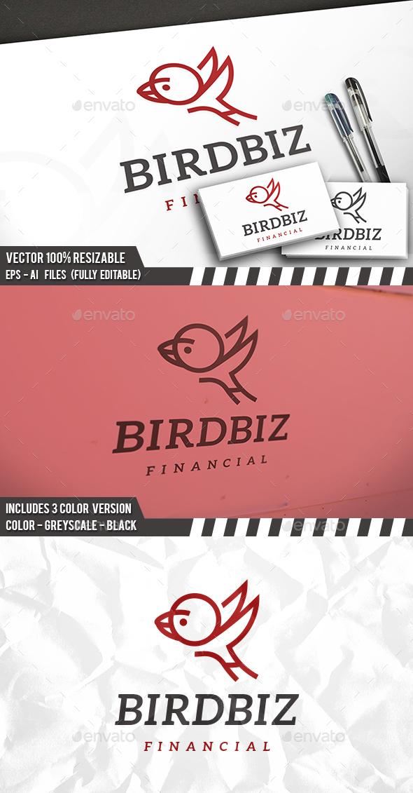 Bird Brand Logo - Animals Logo Templates