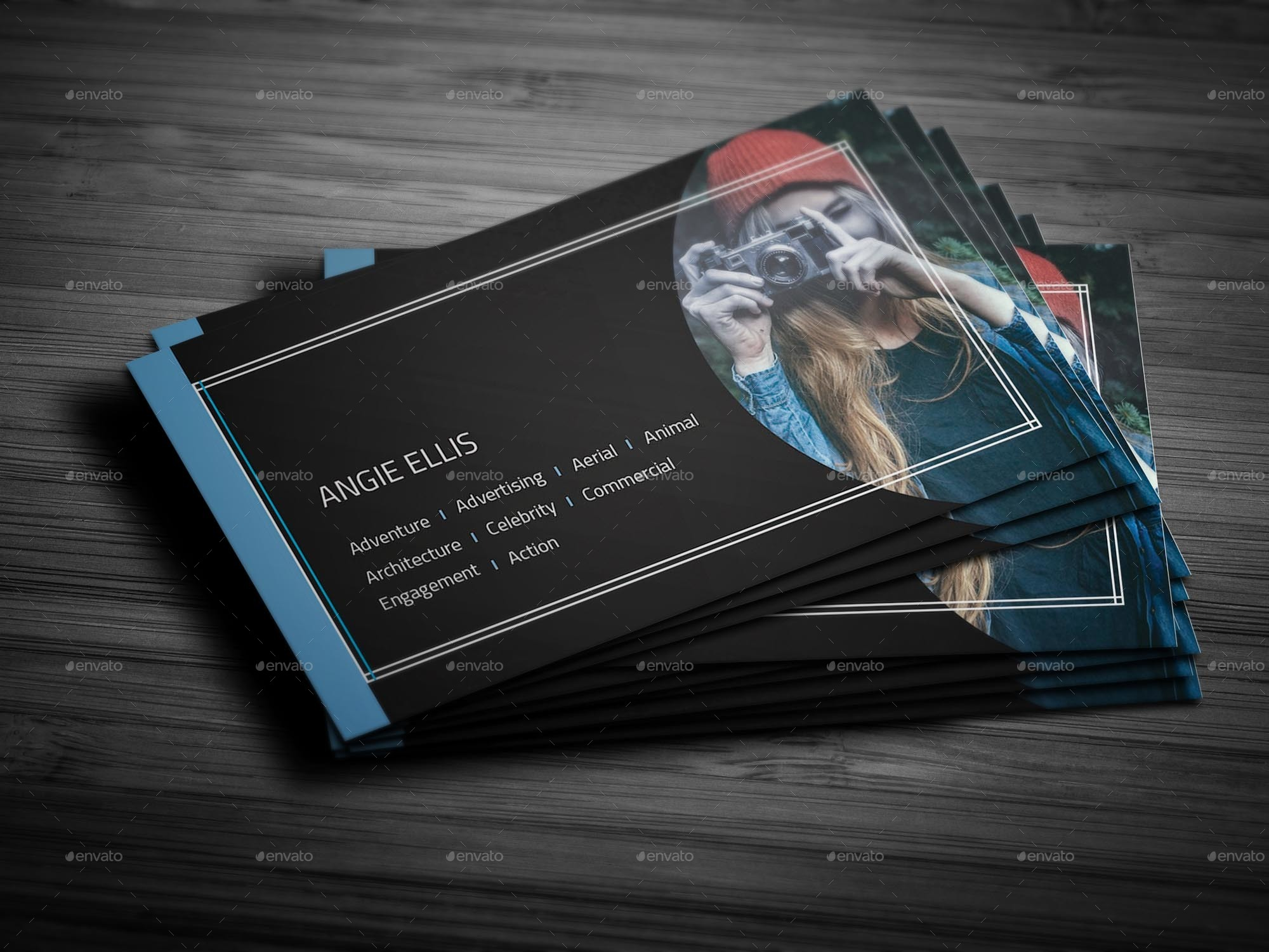 Creative photography business card template by arnabkumar graphicriver creative photography business card template creative business cards 01g reheart Choice Image