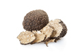 Black truffle and slices on white, clipping path - PhotoDune Item for Sale