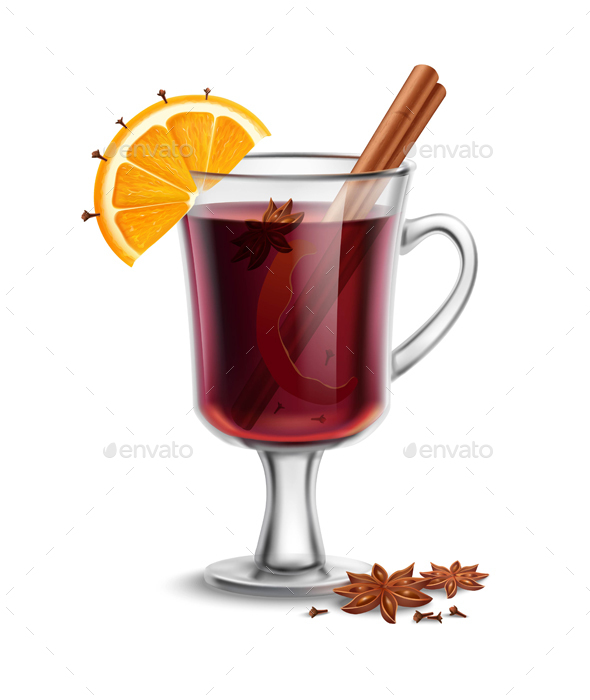 Mulled Wine - Food Objects
