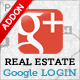 Real Estate Google+ Login - CodeCanyon Item for Sale