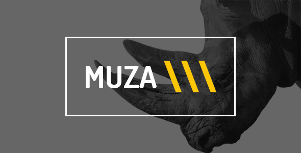 Muza — Creative Portfolio or Agency PSD Template - Creative PSD Templates