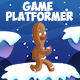 2D Game Runner Platformer Asset with 3 Seamless Background - GraphicRiver Item for Sale