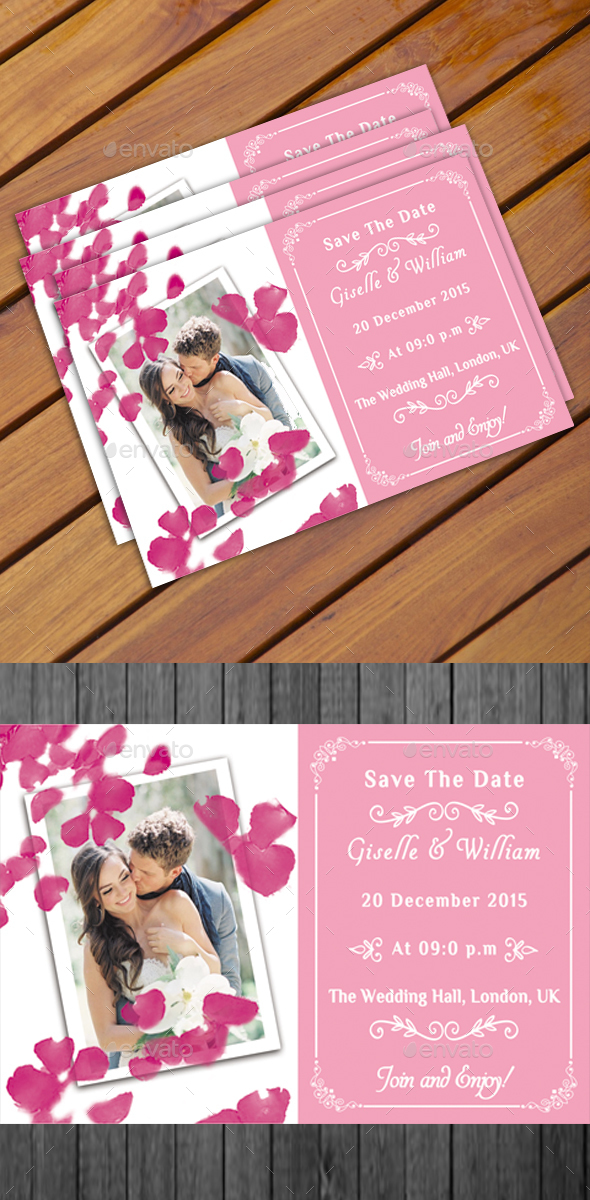 Wedding Postcard - Weddings Cards & Invites