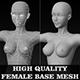 High Quality Female Base Mesh