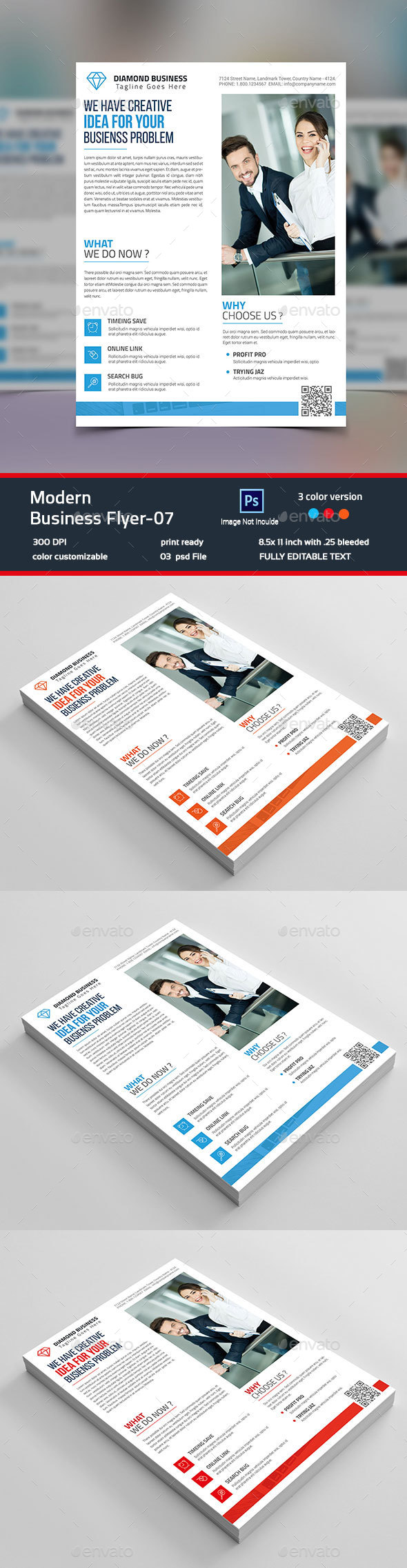 Modern Business Flyer-07 - Corporate Flyers