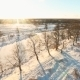 Aerial Shot Winter Landscape - VideoHive Item for Sale