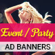 GWD | Event & Party Banners - 7 Sizes