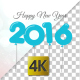 Happy New Year 2016 Balloon Background - VideoHive Item for Sale