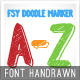 FSY Doodle Marker - GraphicRiver Item for Sale