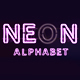 Neon Letters - VideoHive Item for Sale