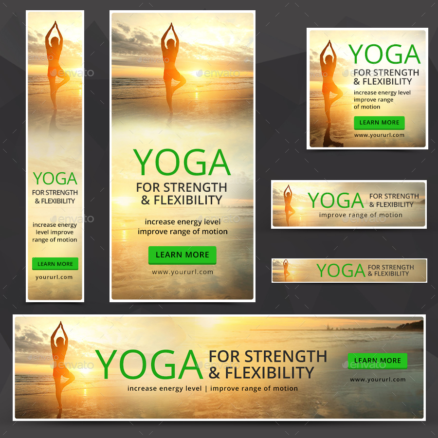 Yoga Banners By Hyov Graphicriver