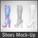 Shoes Mockup - Woman Shoes Mockup Edition - GraphicRiver Item for Sale