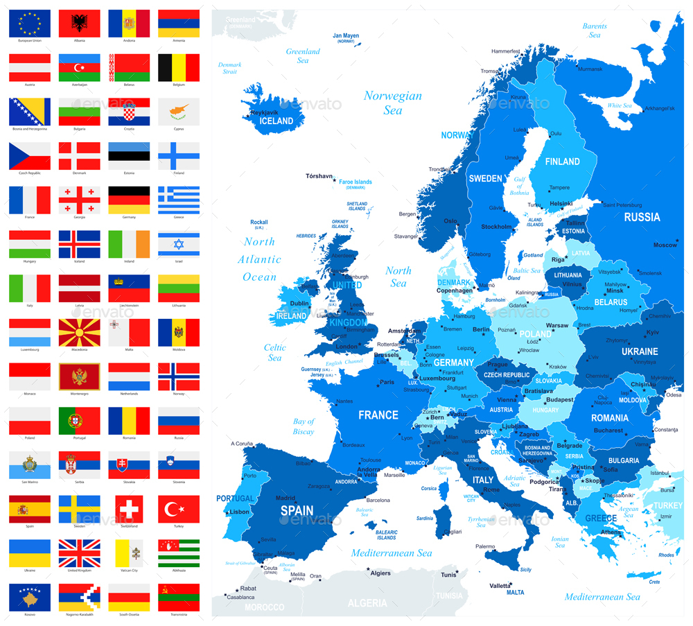 0382 flags and map europe blue flat 1000_903jpg
