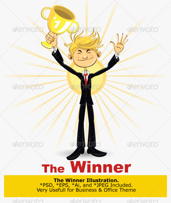 Winner Businessman - Concepts Business