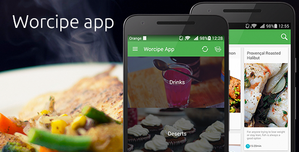 Worcipe App – Full Application Android  - CodeCanyon Item for Sale