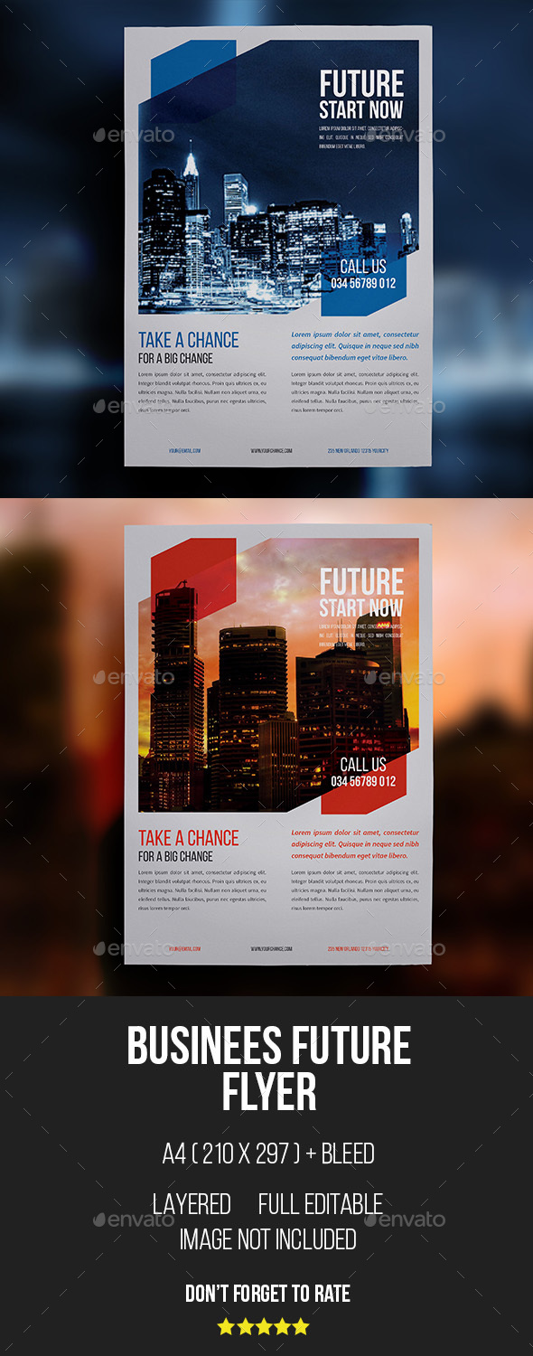 Business Corporate Flyers - Corporate Flyers