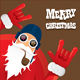 Modern Santa Card - GraphicRiver Item for Sale