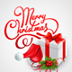 Clean Christmas Card - GraphicRiver Item for Sale