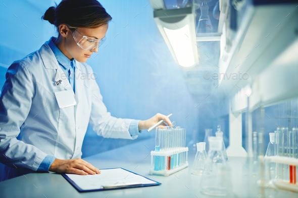 Laboratory work - Stock Photo - Images